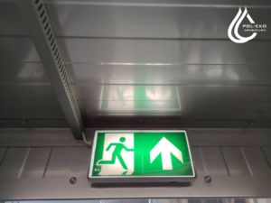 FEKO+ exit sign with backligh